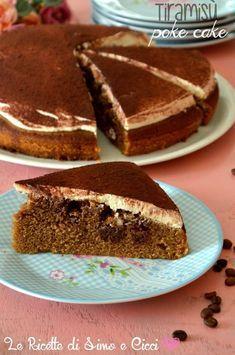 Tiramisù poke cake ricetta golosa | Le Ricette di Simo e Cicci