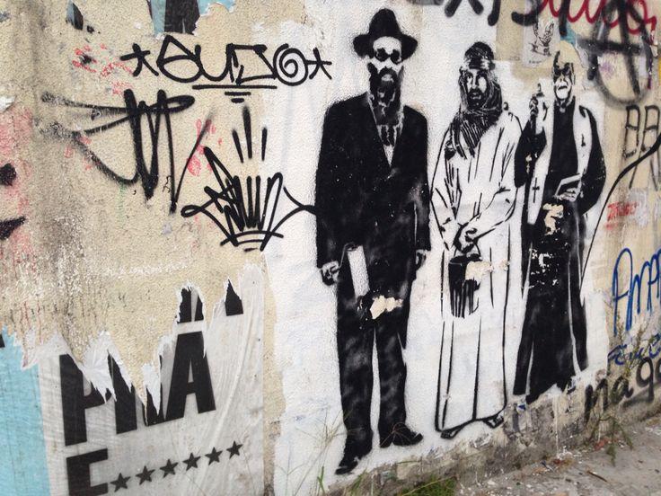 Street art in São Paulo, Brazil #saopaulo #brazil #streetart