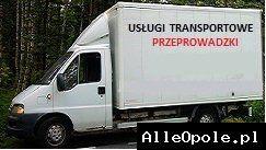 Usługi transportowe,przeprowadzki już od 70 zł  (Opole)