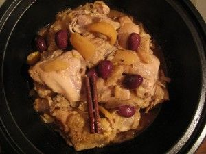 Tajine chicken with preserved lemon