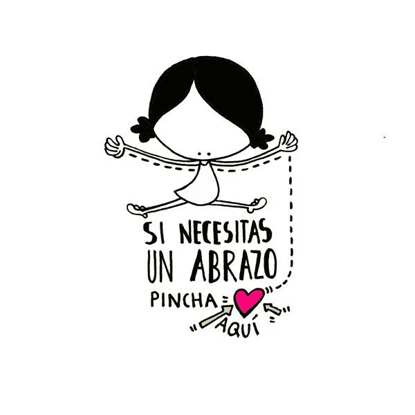 Si necesitas un abrazo... ¡ pincha(me) aquí! Eeeegunon mundo!! ::: Besarkada batean beharrean bazaude... eman click nire bihotzari! For a hug, press here (in my heart) :::  http://www.muxotepotolobat.com/lamina-si-necesitas-un-abrazo.html