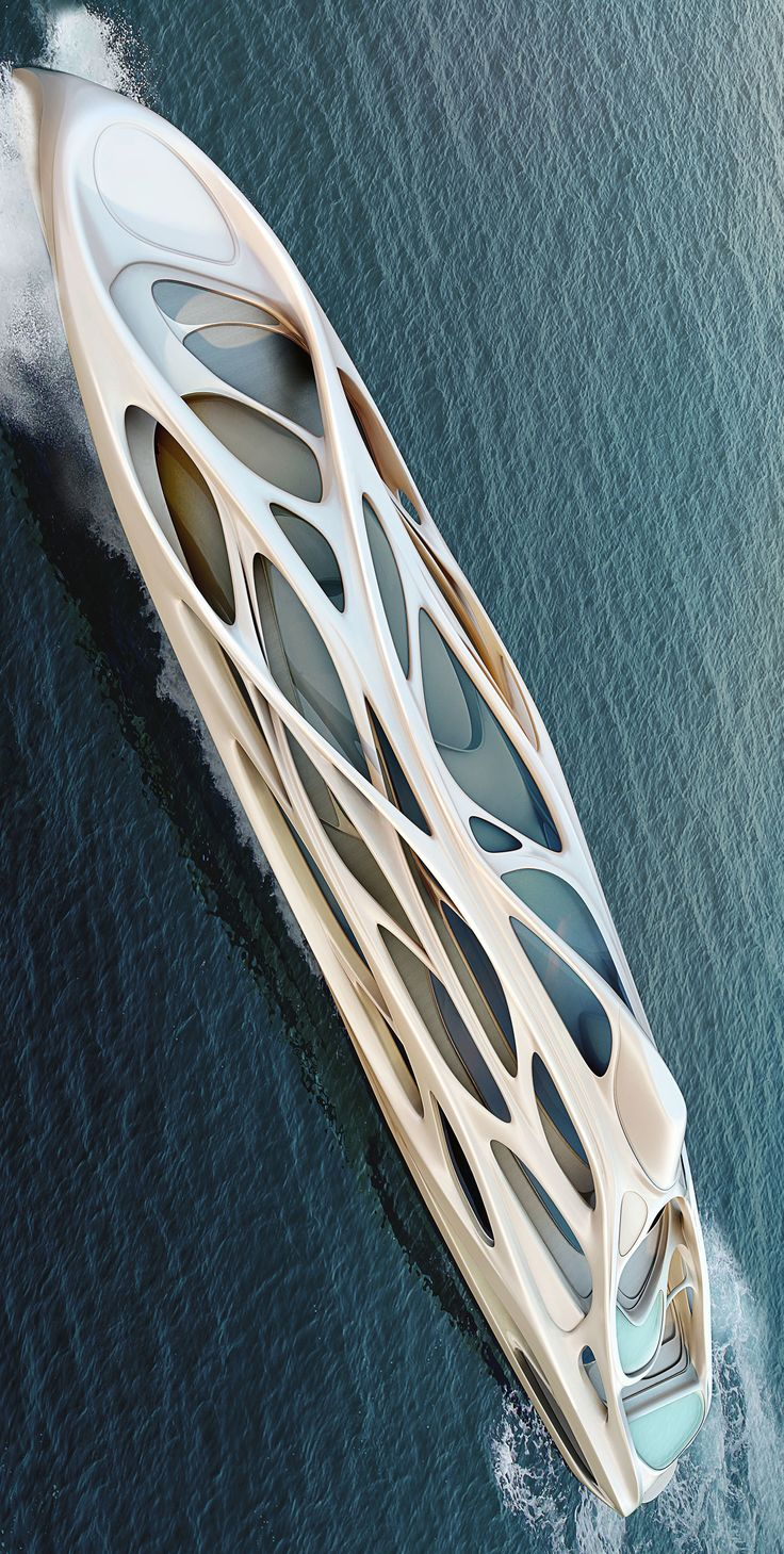 Yachts by Zaha Hadid Architects