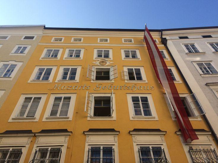 Mozart's Birth House, Salzburg, Austria