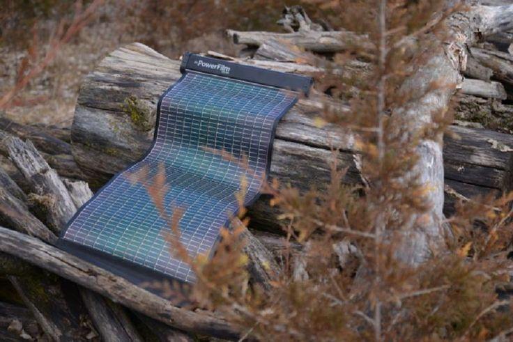 LightSaver Max, cargador solar portátil ultraligero para viajeros 99$ en Amazon ;P