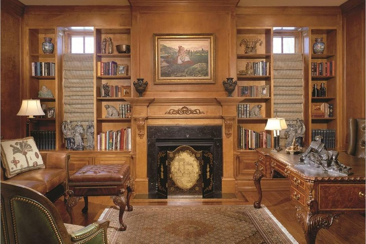 A traditional style home office. 1 of 5 projects by Debra J Interiors.