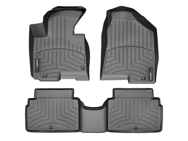 2012 Kia Sportage | WeatherTech FloorLiner custom fit car floor protection from mud, water, sand and salt. | WeatherTech.com
