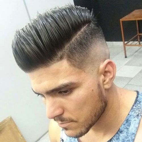 mid fade haircut best 25 skin fade pompadour ideas on 9613