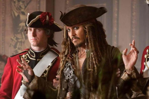 Barbossa: Jack, our sands be all but run.  Where's the harm in joining the winning side?  Jack Sparrow: I understand everything…except that wig.