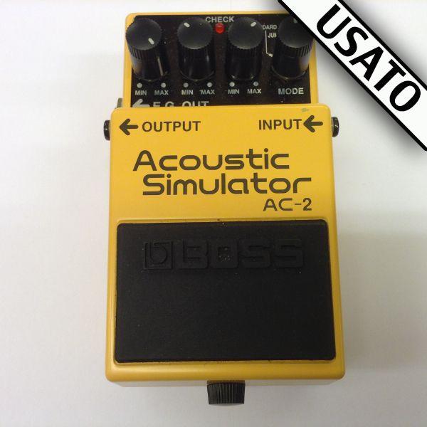 Pedale Boss AC-2 Acoustic Simulator Usato. Con scatola originale inclusa nel prezzo.