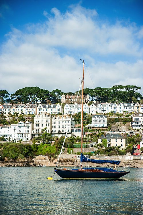 Fowey, Cornwall | England (by Paul Scott Thomas)