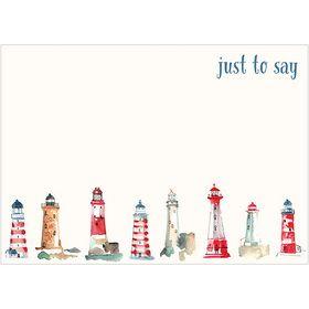 M125 Lighthouses notecard set of 10 www.gailscards.com.au