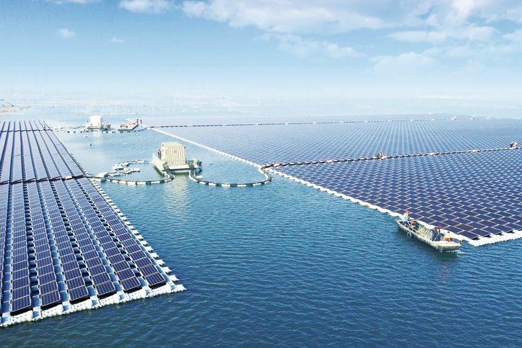 china floating solar power plant