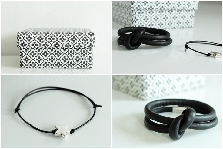 knut bracelet, star bracelet and a bungalow box (for bracelets maybe ;)).