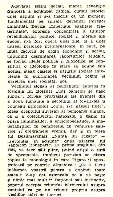 """Program de sală, Teatrul Național București, 1974: """"Danton"""" de Camil Petrescu - altmarius"""