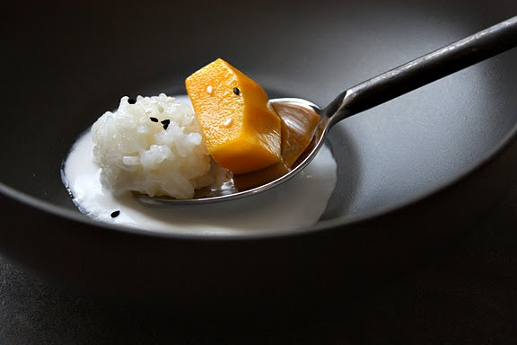 Thai Sweet Coconut Sticky Rice and Mango....one of my favorites!