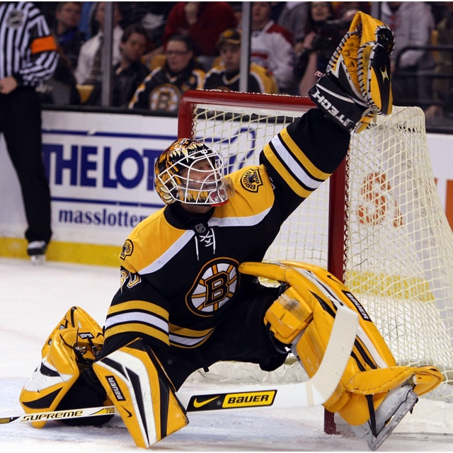 Tim Thomas...I dont care if he plays for the Islanders now...he will still always be my favorite Bruins player<3