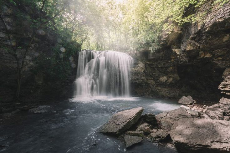 Hayden Run Falls in Columbus Ohio