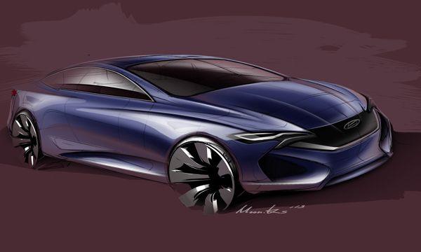 Hyundai Sedan Project_2013 by Kyusik Moon, via Behance
