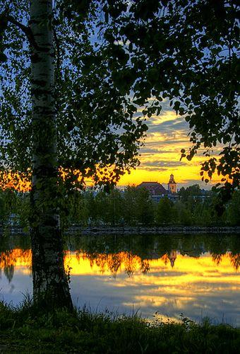 Midnight Sun, Kuopio, Finland