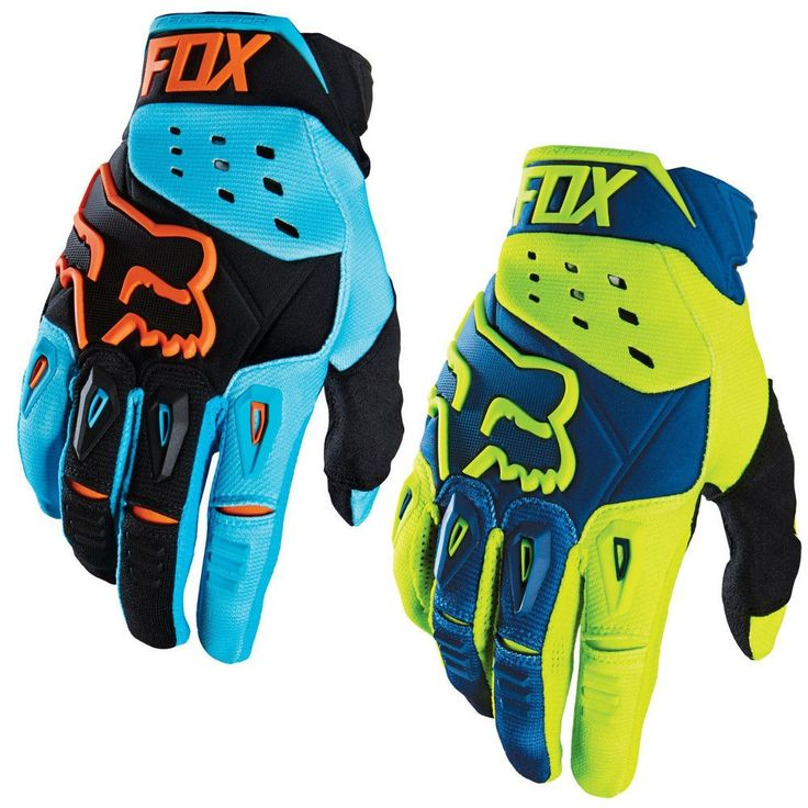 Fox Racing Pawtector Race Mens Motocross Gloves