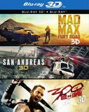 3D Film Collection (Mad Max: Fury Road/San Andreas/300: Rise of an Empire) [DVD]