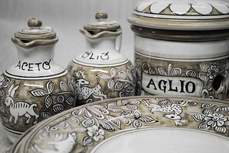 "Collection ""Lepre Beige"". Ceramics 100% Made in Italy. #italianceramics #handmade #madeinitaly"