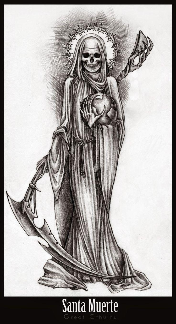 santos  oraciones: Oracion a La santa muerte. (Dominar a hombres o mu...