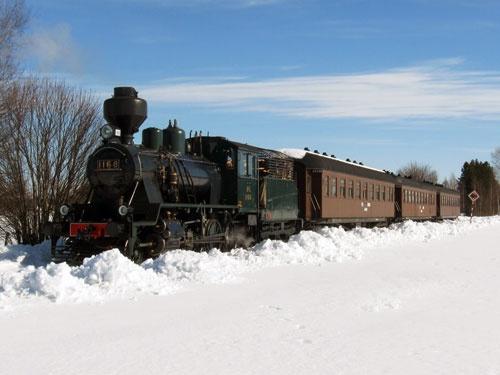 The Christmas train runs from Kerava to Porvoo www.visitporvoo.fi