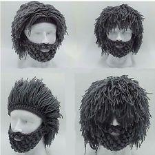 Best Grey Warm Beard Hat Barbarian ...