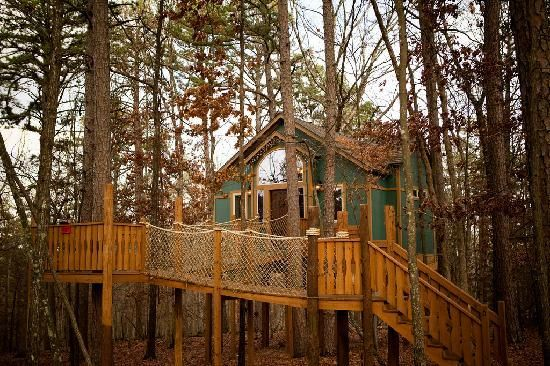 44 best images about our first vacation eureka springs for Tree house cabins arkansas