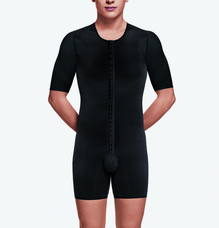 Our new male #body-shaper with arms is out! A complete #bodysuit designed for #gynecomastia surgery and #liposuction/#hidefliposuction on the abdomen, flanks, back and/or thighs. With 3 adjustable settings & reinforcements in key areas, makes it the best #compressiongarment on the market. #5016 #recovapostsurgery#tummytuck #voegarments http://www.recovapostsurgery.com/5106-2.html