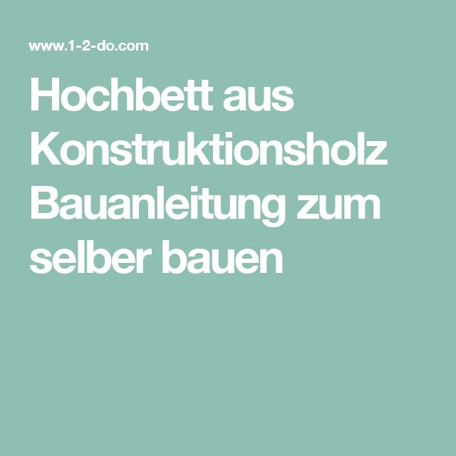 Meer dan 1000 ideeën over Hochbett Selber Bauen op Pinterest ...