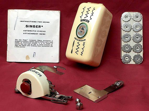 COMPLETE Singer 160991 Automatic Swiss Zig-Zag Vintage