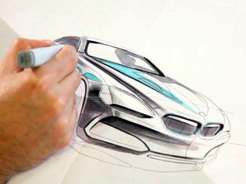 BMW Design Sketch