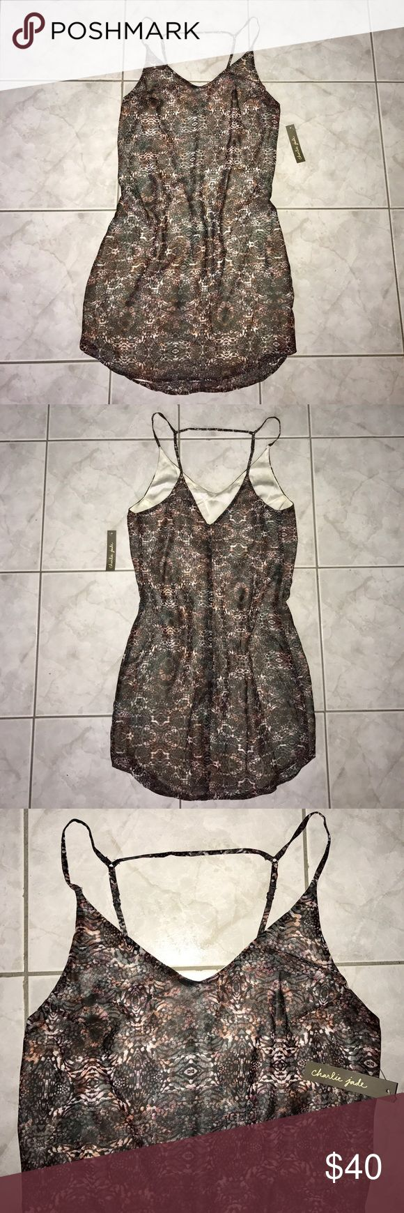 Charlie Jade Dress NWT Patterned, Charlie Jade, dress. NWT. Colors include shades of grays, reds and creams. ✨Bundle and Save✨ Anthropologie Dresses Midi