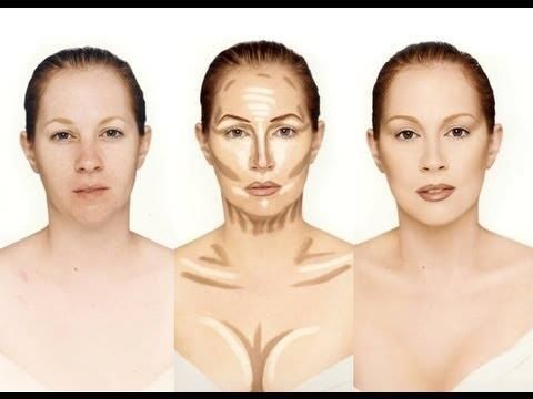 Contouring for photoshoots