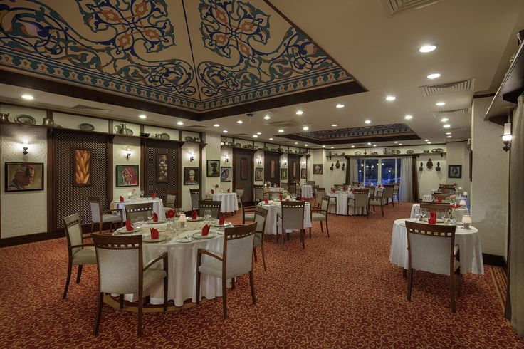 Şadırvan a la carte #restaurant: offers an authentic Turkish concept filled with extraordinary flavours of Turkish #cuisine.