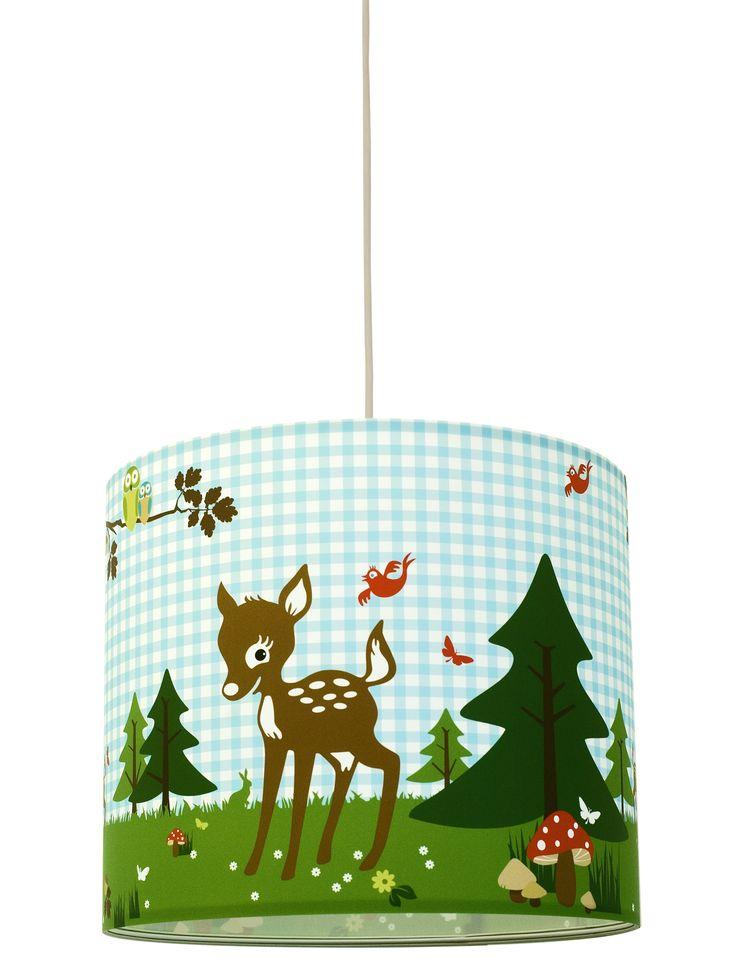 Super cute deer bambi themed lamp shade #deer#bambi#cute#lampshade#forest#design#annawand