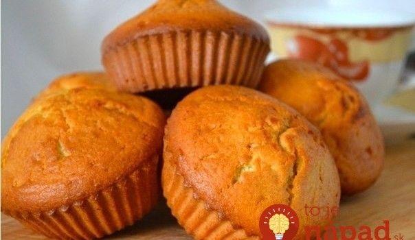 Jednoduché krupicové muffiny