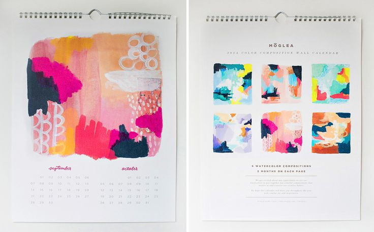 2014-Cal-Moglea-Watercolor - Design Milk