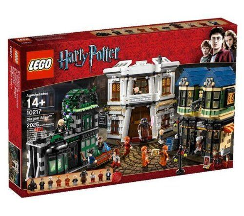 exclusive set;lego;harry potter;diagon alley;beautiful impressive set...