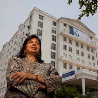Heroes Of Philanthropy: Kiran Mazumdar-Shaw's Affordable Health Care Legacy