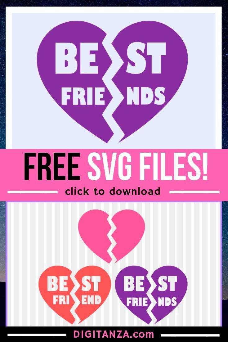 Free Best Friends Svg Svg Plotter Freebie Cricut Tutorials