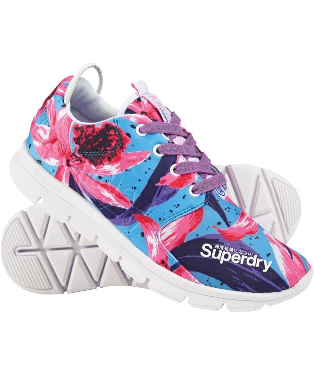 Superdry joggesko Superdry joggesko. Lett og behagelig joggesko fra Superdry. God ventilasjon og myk såle.