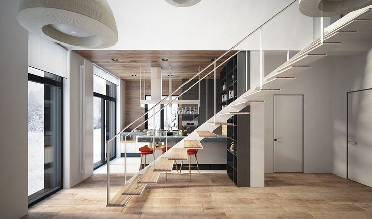 481 best amazing stair designs images on pinterest for Different stairs design