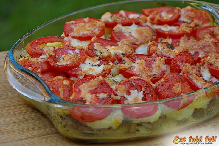 Ezt fald fel!: Csirkemell rakottas paradicsommal és mozzarella sajttal