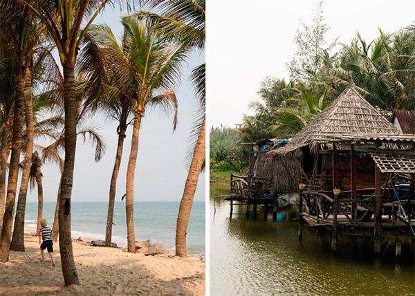 Vores oversigt over de bedste steder at bo og spise samt opleve på vores rejse rundt i Sydøstasien - vietnam thailand