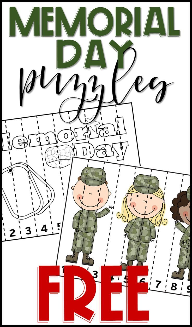 Free Memorial Day Math Activity For Prek And Kindergarten Practice Counting Recognizing Numerals Memorial Day Activities Memorial Day Kindergarten Worksheets [ 1251 x 736 Pixel ]