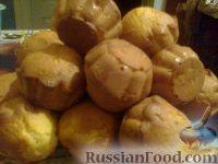 Фото к рецепту: Быстрые кексы в силиконовой форме
