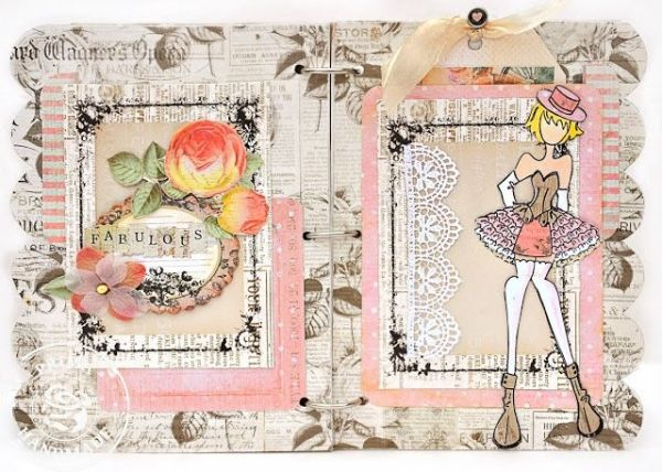 Scrap Escape: Prima Julie Nutting Doll Stamps and Chipboard Book ...